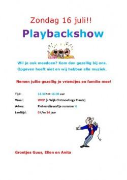 Playbackshow 2017